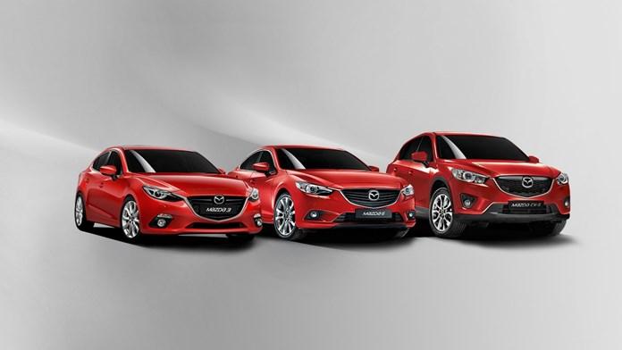 nowe modele Mazdy, salon samochodowy Mazda