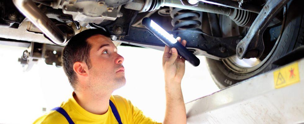 używane auto, przegląd mechanika