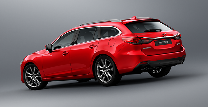 Mazda 6 w wersji kombi