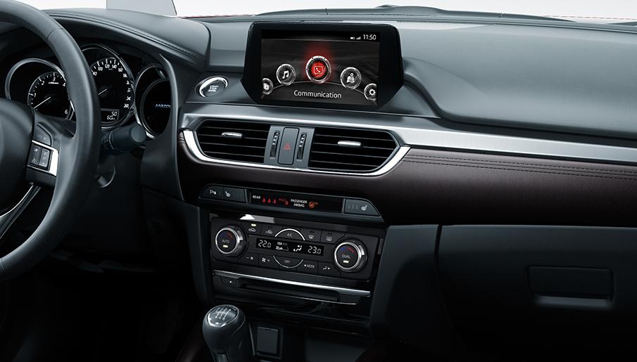 Wnętrza nowego modelu Mazda 6