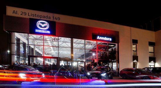 Salon samochodowy Mazda Anndora Kraków