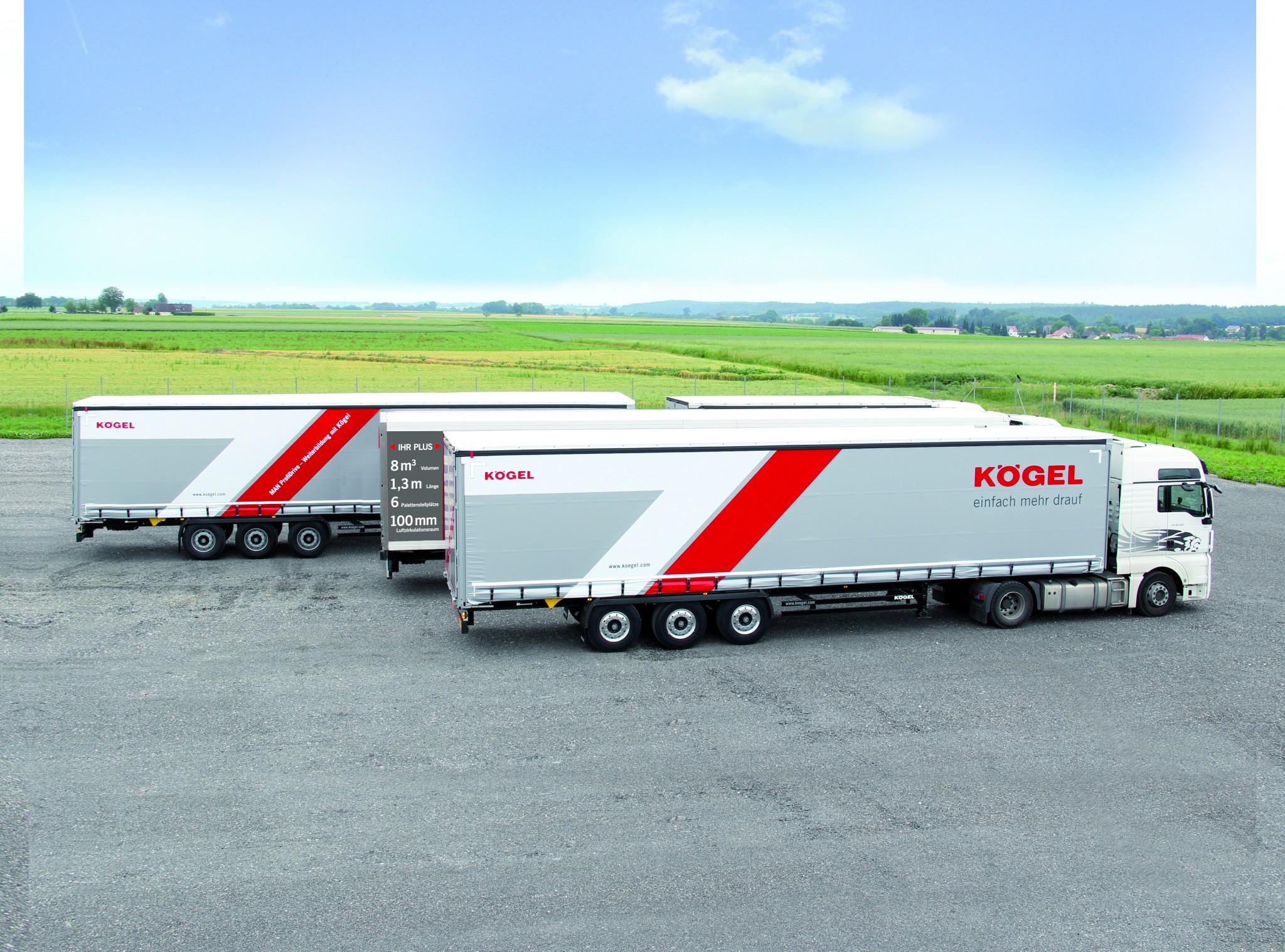 Ciężarówka na długie trasy DBK