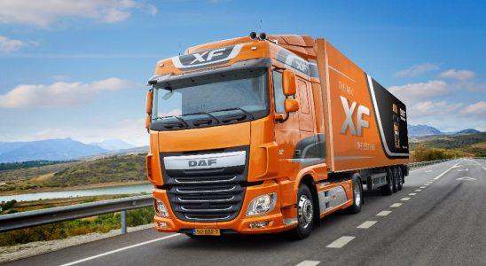 Ciężarówka DAF Grupa DBK