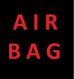czerwona kontrolka air bag