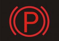 czerwona kontrolka P