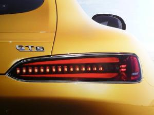 żółty lakier samochodowy